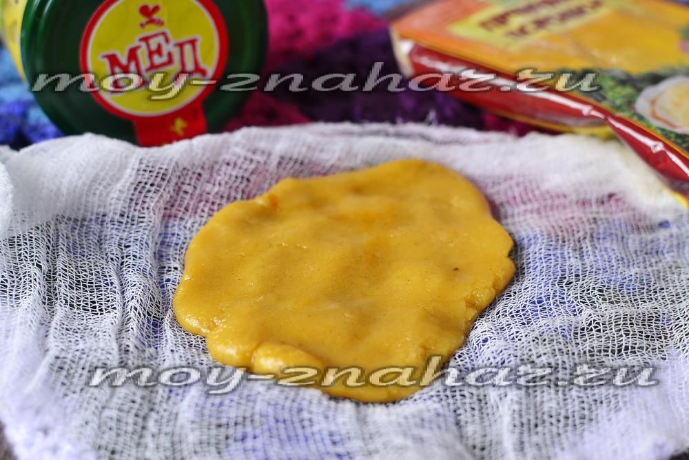 Как сделать лепёшку из горчицы от кашля