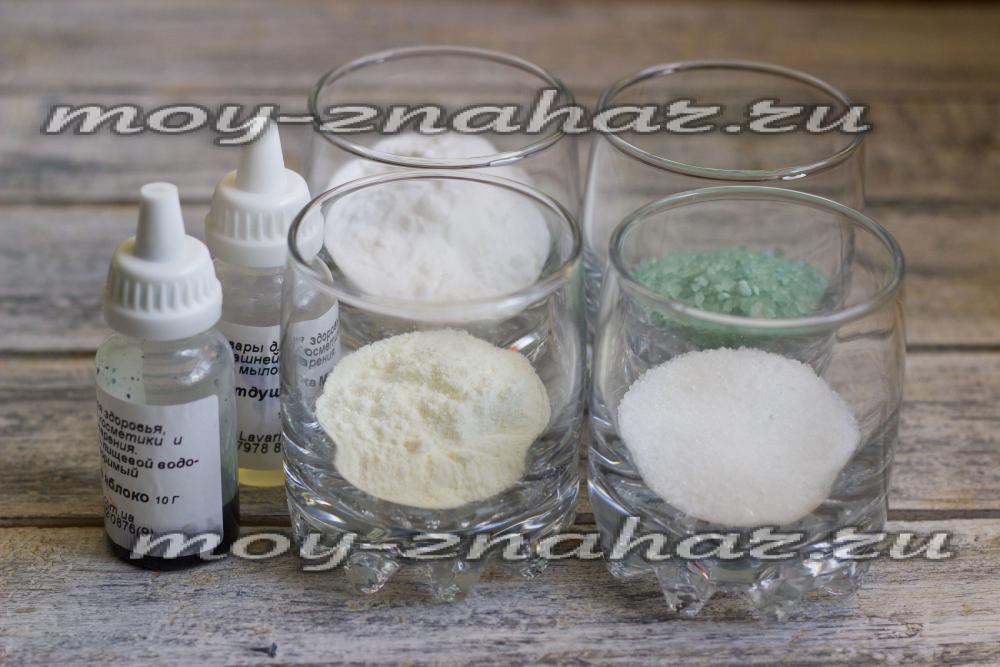 Бомбочки для ванны своими руками рецепты без сухого молока 17