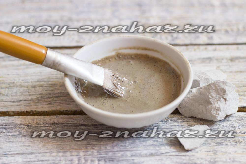 Рецепт обертывания голубой глины