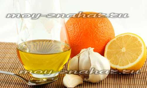 чистка сосудов лимоном и чесноком рецепты зож