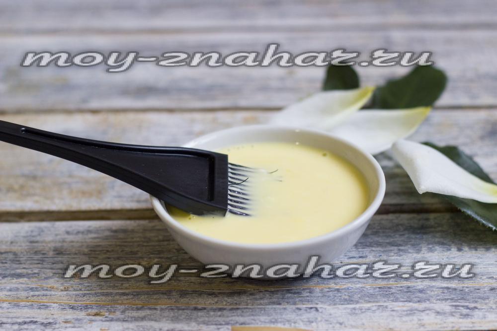 Рецепт майонезной маски для волос