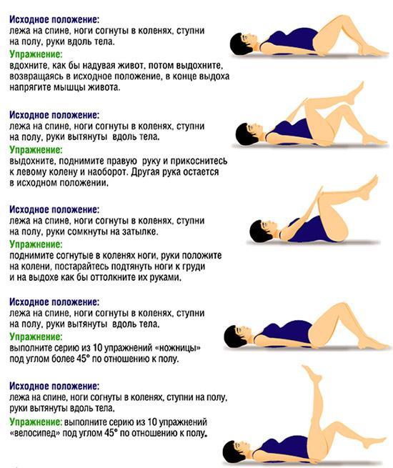 Комплекса упражнений для беременных 2 триместр в домашних условиях