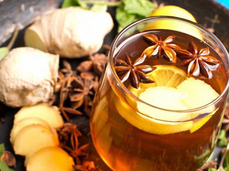 Чай имбирь корица для похудения