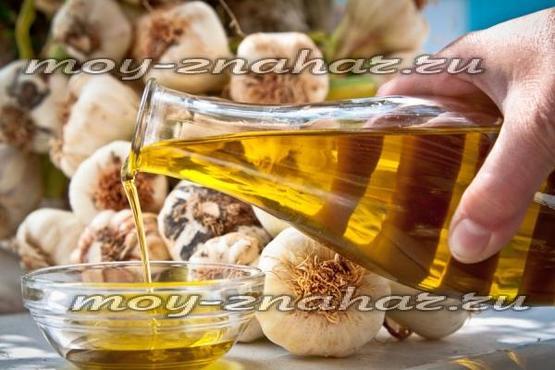 Чесночное масло для чистки сосудов